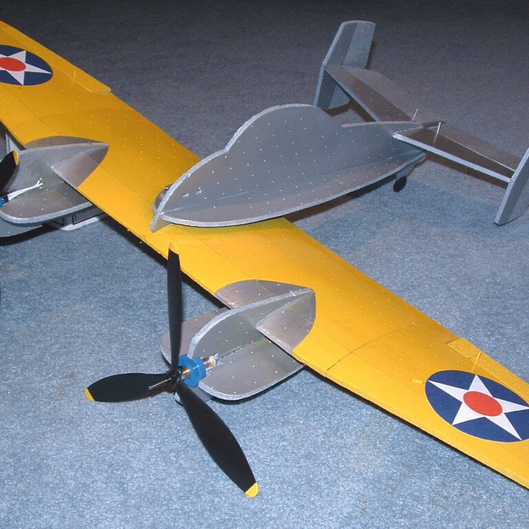 35″ XF5F Skyrocket Profile Model Kit