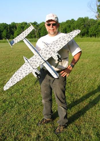 "48″ He-219 A-2 ""UHU"" Profile model kit"