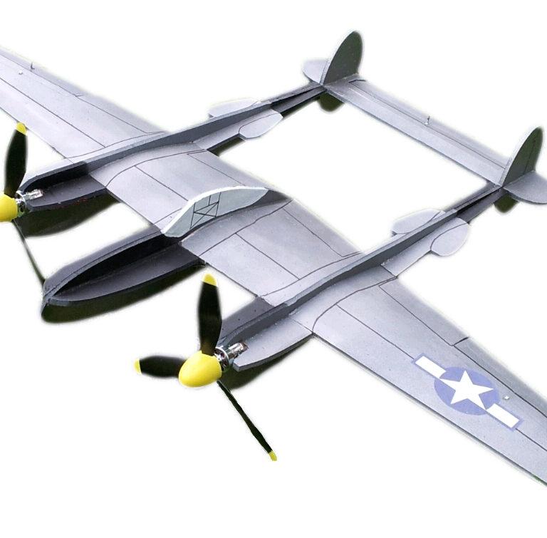 40″ P-38 Fork-Tailed Devil Kit