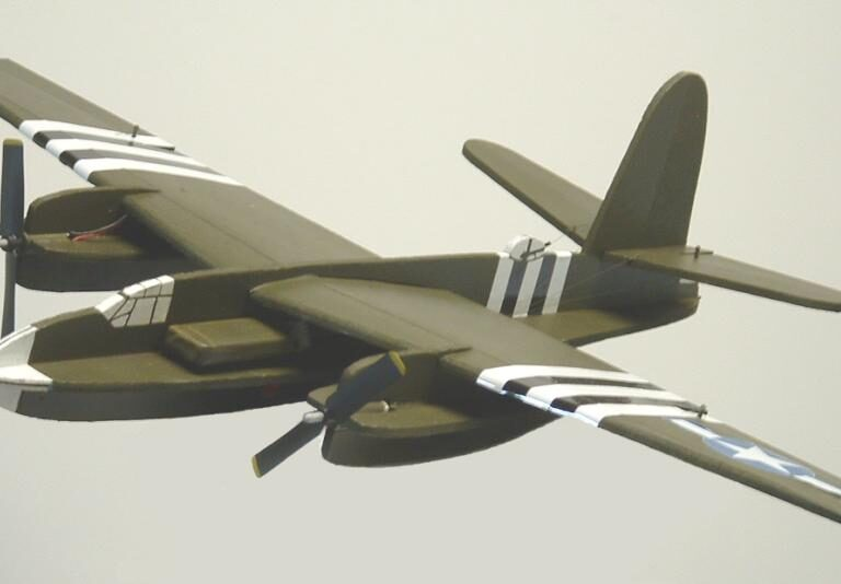 "28″ B-26 ""Marauder"" Profile model kit"