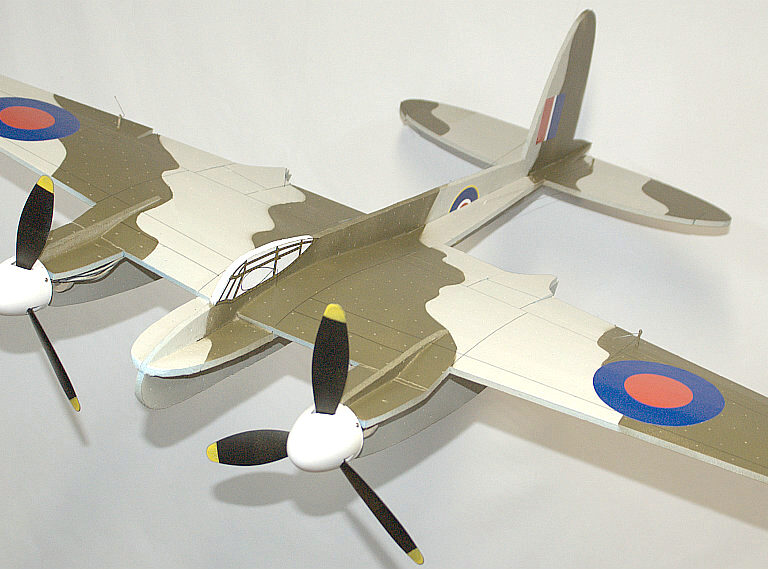 40″ Mosquito Profile Model Kit