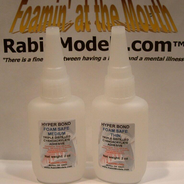 2oz Foam-Safe (Odorless) CA Glue